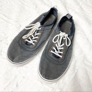 Columbia Lace Up Chambray Canvas Sneaker Skater